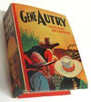GENE AUTRY COWBOY DETECTIVE #1494 F, Better Big Little Books Whitman 1940