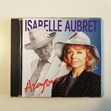 ISABELLE AUBRET chante ARAGON - titres Ferrat, Ferré ( CD + Livret avec paroles)
