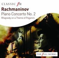 Rachmaninov: Piano Concerto No 2 - Vladimir Ashkenazy LSO André Previn (NEW CD)