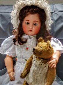 !!! Zauberhafte antike K&R Puppe, 75cm !!!