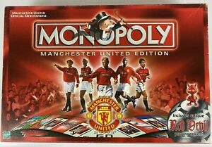 Monopoly Manchester United 1999 Football Champions with Red Devil Token Complete