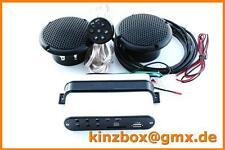Radio + MP3 Stereoanlage Musik Sound für Motorrad Bike