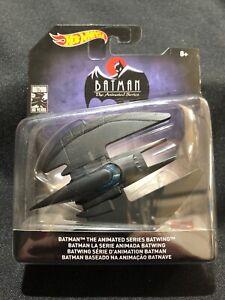 Hot Wheels DC BATMAN 80 Years BATWING BATMAN THE ANIMATED SERIES Brand New