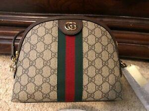 ********Gucci Ophidia Small Shoulder Bag Crossbody GG Supreme Canvas