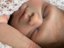 "OOAK Reborn Baby ""Daisy"" HIGHLY DETAILED 18 inches Painted Hair Gorgeous"