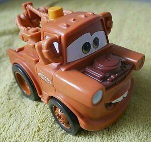DISNEY PIXAR CARS 2 Shake N' Go Tow Mater Talking Vehicle MATTEL - all Tested