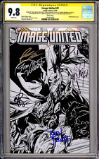 Image United #2 CGC SS 9.8 (McFarlane Cover) Signed 7x!!
