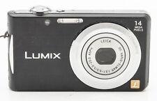 Panasonic Lumix DMC-FS16 Digitalkamera Kompaktkamera Leica Elmar 5-20mm schwarz