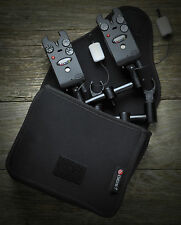 Cygnet Tackle NEW Snugs 20/20 Black Neoprene Buzz Bar Bag Pouches - 2 Rod
