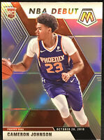 2019-20 Mosaic Cameron Johnson Silver Prizm NBA Debut RC Suns