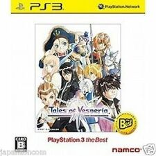 Used PS3 Tales of Vesperia   SONY PLAYSTATION 3 JAPAN JAPANESE IMPORT