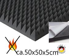 Pyramiden Schaumstoff SELBSTKLEBEND Dämmung Akustik HIFI Schallschutz Flammhemen