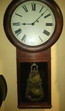 Antique Seth Thomas #1 Wall Clock For Parts Or Restoration.