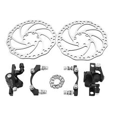 MTB Mountain Bicycle  Mechanical Disc Disk Brake Front and Rear 160mm + G2 Rotor