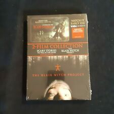Blair Witch Project and Scary Stories to Tell in the Dark Brand New Sealed Dvd