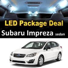 For 2004 - 2017 2018 Subaru Impreza LED Lights Interior Package Kit WHITE 6PCS