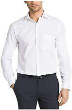 Kirkland Signature Men's Tailored Fit Dress Shirt White 17 x 34/35