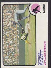 1973 TOPPS BASEBALL GEORGE SCOTT #263 BREWERS EX+ *55191