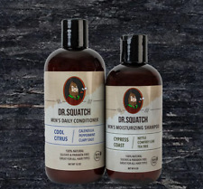 Dr.Squatch Hair Care Kit - Shampoo and Conditioner - Healthy Hair - For REAL Men