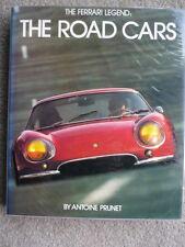 THE FERRARI LEGEND THE ROAD CARS Car Book jm