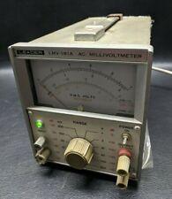 Leader Lmv-181A Ac Millivoltmeter Test Equipment