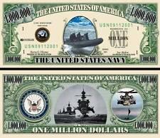 US Navy Seals classic-style Million Dollar Bill Fake Funny Money Novelty Note