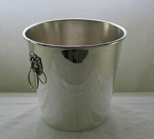 Champagne/Wine Cooler with Lions Mask Handles