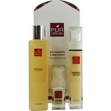 Pur Attitude Skin Essentials 3 Step System : Purifying Rice Face Wash 6.6 oz + H