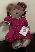 Boyds Bear Martha T. Bearyproud with Rocking Chair