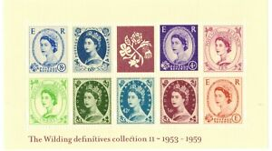 2003 GB Wilding Definitives II Collection Mini Sheet MS2367 +FREE CARRIER