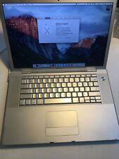 "Apple MacBook Pro A1226 15"" | 2.20GHz Core 2 Duo | 4GB RAM, 120 GB HDD"