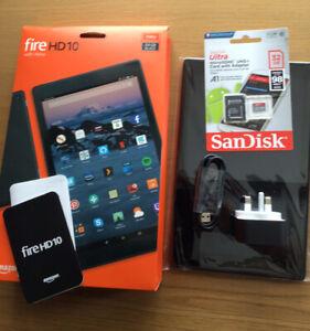 "Amazon Fire HD 10 (7th Gen) 64GB Wi-Fi, 10.1"" Black"