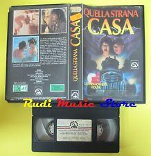 film VHS QUELLA STRANA CASA 1989 foster valentine SKORPION 90 minuti(F45) no dvd