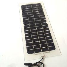 Solar 10.5 W 12v mono transparent panel for car motor powerbank outdoor home