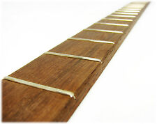 "Cigar Box Guitar Fretboard: Walnut Fully Fretted for 25"" Scale - USA-made!"
