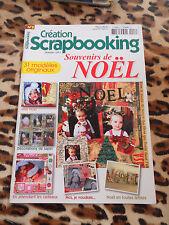 MAGAZINE - Création Scrapbooking n° 8 : Souvenirs de Noël