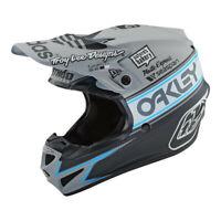 Troy Lee Designs SE4 Polyacrylite Team Edition 2 Gray Helmet