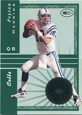 Peyton Manning 1999 Donruss Preferred National Treasures Insert 0785/2000 Colts