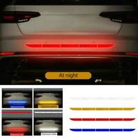Auto Car Reflective Warn Strip Tape Bumper Truck Safety Stickers Decals Paster L