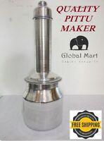 Puttu Maker Pittu Maker -Large Traditional Puttu Kudum Quality and Easy