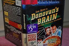 Midnite Movies: Donovan's Brain DVD Used  RARE, OUT-OF-PRINT (OOP)  Lew Ayres