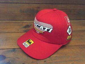 DUCATI AUTOSPORT CAP - AGIP - New - Motorcycles Merchandising