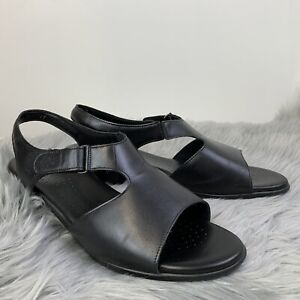 SAS Womens Sandals Suntimer Tripad Comfort Open Toe Block Heel Leather Size 11W