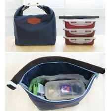 Tote Portable Insulated Pouch Cooler Waterproof Food Storage Bag Navy Hot