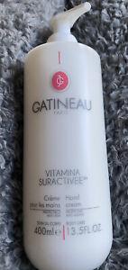 Gatineau Vitamina Suractivee Hand Cream - 400ml Brand New