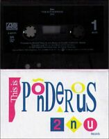 2NU This Is Ponderous Vintage Audio Cassette Tape