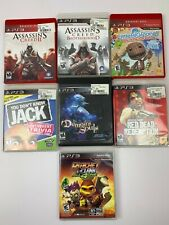 Sony Playstation 3 PS3 Video Game Lot of 7 Games Demons Souls Red Dead Ratchet