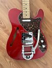 Fender Deluxe Telecaster Thinline w/ Bigsby And Upgrades