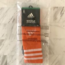 Adidas Copa Zone Cushion Sock Size Small Pair Orange Soccer