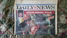 MICHAEL JACKSON MEMORIAL SPECIAL -  2009 NEW YORK DAILY NEWS